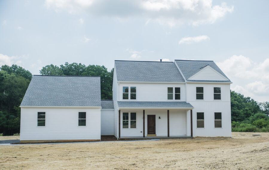 Two story custom home build in Fleetwood, Berks County, PA