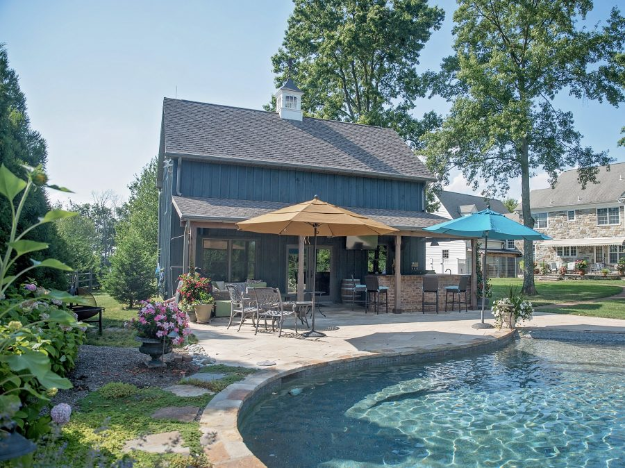 Custom build pool house home addition in Hatfield, Montgomery County, PA
