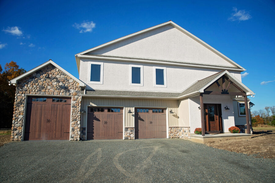 Two story custom home build in Pennsburg, Montgomery County, PA