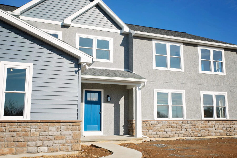 Two story custom home build in Reading, Berks County, PA