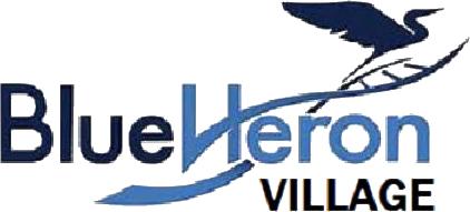Blue Heron Village Logo